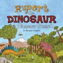 Illustration: Rupert the Dinosaur on Dinosaur Planet book cover